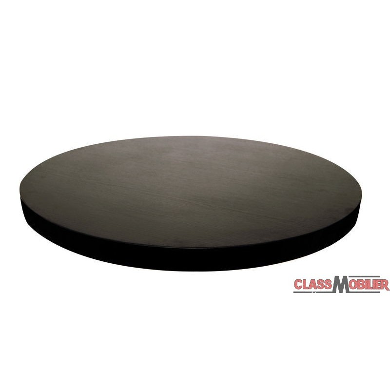 plateau de table rond m lamin description. Black Bedroom Furniture Sets. Home Design Ideas