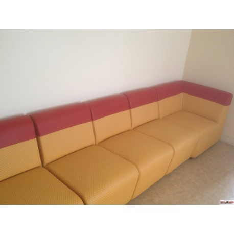 banquette expo lot comme photo