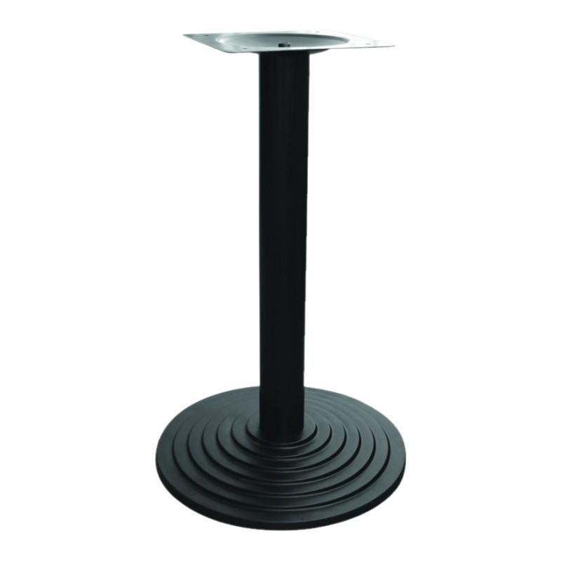 pied table fonte description supplementairepied de table en fonte noir base ronde compatible. Black Bedroom Furniture Sets. Home Design Ideas