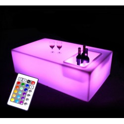Table basse Lumineuse LED L120 cm