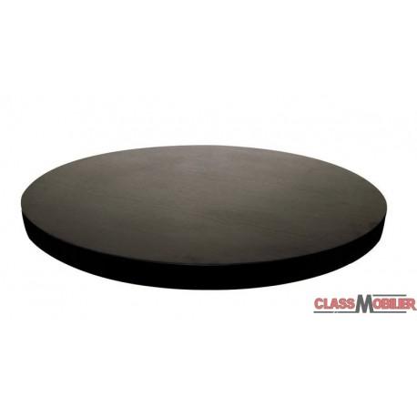Plateau de table rond mélaminé